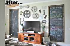 Come see how we turned a once very vacant wall into a gallery wall that now demands attention. My love for funky, eclectic pieces, and industrial style is all o…