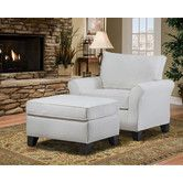 Found it at Wayfair - Belle Meade Arm Chair and Ottoman