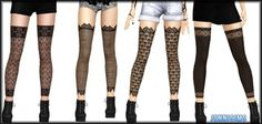 Sims 3 Finds - Accessory Stockings RockStar at Jenni Sims