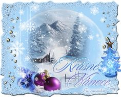 Vánoční přání - Obrázková přání Christmas Images, Christmas Wishes, Christmas And New Year, Christmas Bulbs, Snow Globes, Clip Art, Animation, Awesome Things, Holiday Decor
