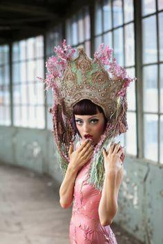 Katarzyna Konieczka - Head pieces and masks