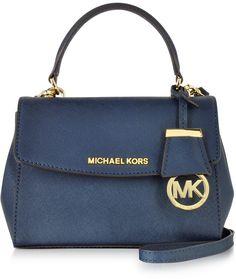 Nwt Michael Kors Saffiano Leather Small Cynthia Ns Satchel