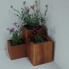 Redwood planter, look for specials on our blog.