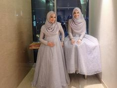 Discover recipes, home ideas, style inspiration and other ideas to try. Hijab Gown, Kebaya Hijab, Hijab Evening Dress, Hijab Dress Party, Hijab Style Dress, Kebaya Dress, Kebaya Muslim, Muslim Dress, Muslimah Wedding Dress