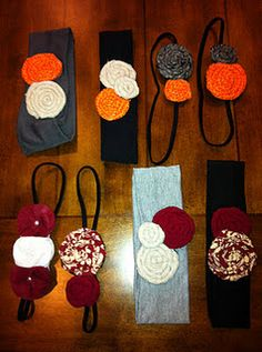 MakHappi.Etsy.com OU/OSU headbands!! So many combinations and styles to choose from!! Great for #GameDay!!! Check out all Mak Happi designs! Over 10 different styles of flowers and 10 different types of bands! Over 30 fabrics to choose from! Also girls shirts and baby onesies! www.facebook.com/... or makhappi.blogspot... #Headbands #babies #Littlegirls #Teens & #Womens #accessories #flowers #photoprops #gifts #OU #OSU