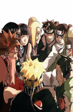 Naruto | Shikamaru | Tenten | Ino | Hinata | Kiba | Sakura | Choji | Neji | Rock lee |
