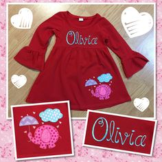 Valentine outfit for my daughter!