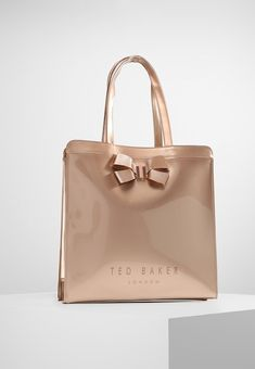 8155b3ee6 Ted Baker London - VALLCON BOW DETAIL LARGE ICON BAG - Shopping Bag rose  gold