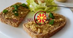 leblebi spread, humus, chickpeas spread Macedonian Food, Chickpeas, Recipies, Vegetarian, Health, Spreads, Dips, Kitchens, Recipes