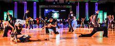 Professional Rising Star Latin heats up the floor at #EmeraldBallDance #dancesport #risingpro #Latin