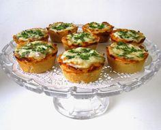 Lindsay Ann Bakes: {VIDEO} Mini Deep Dish Cupcake Pan Pizzas (Pepperoni, BBQ Chicken & more!)