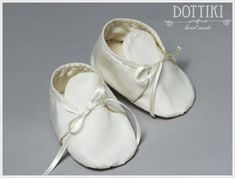 Baby Boy Christening Shoes Silk or Cotton Booties Baby Gift Christening Shoes, Baby Boy Christening, Silk Ribbon, Silk Fabric, Baby Gifts, Booty, Trending Outfits, Unique Jewelry, Etsy