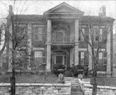 """Whiteside House - 1840  Westside  The first brick house located in Chattanooga was built by James A. Whiteside, early Chattanooga promoter whose efforts earned him the nickname """"old man Chattanooga."""" Torn down in the 1920s, the home was replaced by an apartment building.Today it's covered by the I-27 freeway."""