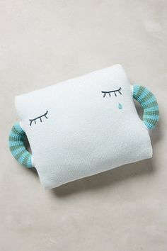 Teardrop Pillow #anthropologie