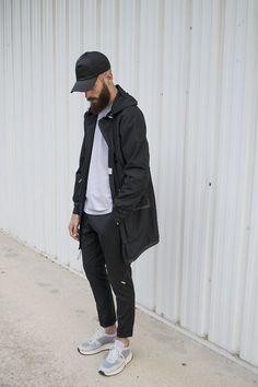 ノームコアファッション、メンズコーデ