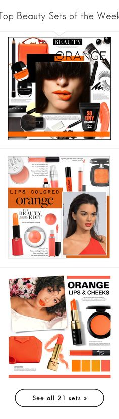 """Top Beauty Sets of the Week"" by polyvore ❤ liked on Polyvore featuring beauty, Lancôme, Trish McEvoy, Mark Cross, Arche, Marc Jacobs, Givenchy, Bobbi Brown Cosmetics, Belk & Co. and MAC Cosmetics"