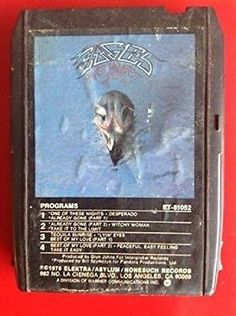 EAGLES Their Greatest Hits 8 Track tape [Audio Cassette] 8 Track Tapes, Greatest Hits, Eagles, Audio, Nostalgia, Catalog, Ships, Culture