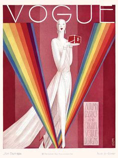 Illustrated Vogue Covers Created By Warhol, Dali & Other Great Artists. Eduardo Garcia Benito, 1926