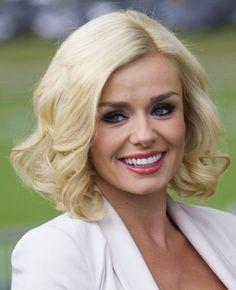 Katherine Jenkins hairstyle