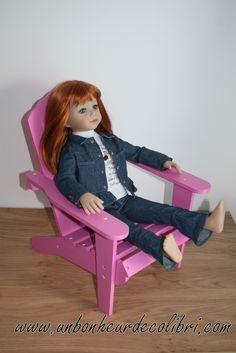 Savannah sur un fauteuil