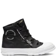 49c12e79d76f Converse Chuck Taylor MC18 High Top Black White White Chaussures Col Haut  Noires