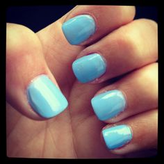 #Beeisforbeeauty One of my fave nail polish colors ! Essie bikini so teeny :)