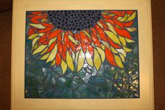 Mosaic Sunflower Table.