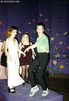 Brad Goreski at his high school dance #Throwback