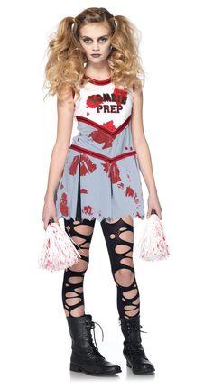 Zombie Cheerleader Child Costume from BuyCostumes.com