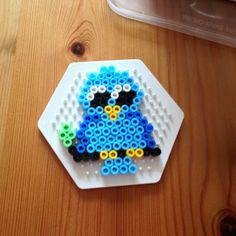 Owl hama beads by jaccotine