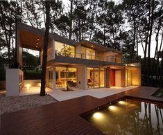 diseño de casas en el bosque - Buscar con Google