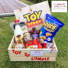 Toy Story, Ideas Para, Ale, Diy And Crafts, Packaging, Sweets, Hampers, Toys, Gifts