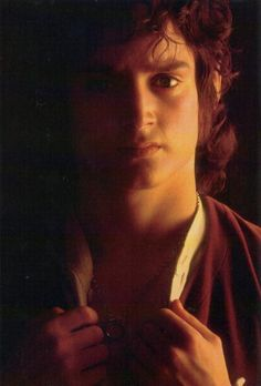I think it was more a crush on Frodo than Elijah.  I saw all three movies, but didn't really crush until I read the books after that. He does have gorgeous eyes though!