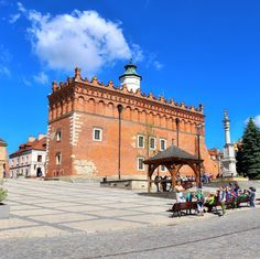 Hello from Sandomierz! In the past it was one of the most important (and the biggest) cities in Poland. It's still charming and absolutely beautiful