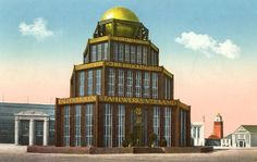 Monument to Iron at the International Building Exhibition in 1913, Leipzig