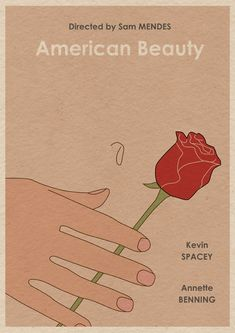 American Beauty - 28 Original Minimalist Movie Posters