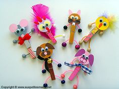 Fun Crafts For Kids, Cute Crafts, Toddler Crafts, Diy For Kids, Crafts To Make, Arts And Crafts, Easy Crafts, J Craft, Craft Stick Crafts