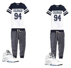 """""""Boys twins Outfit"""" by tiasia4 ❤ liked on Polyvore featuring Retrò"""