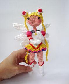 Wow! Sailor Moon Amigurumi Version found at actantedorado's Etsy store. LOVE!