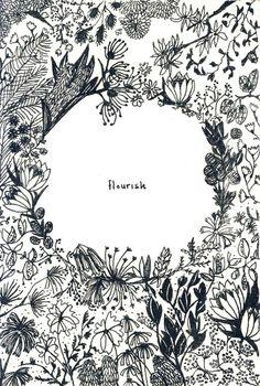 flourish - by Wolf eyebrows