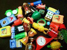 Vintage Cracker Jack & Gumball Toys by socal72girl, via Flickr