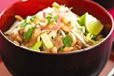 Pad Thai recipe, NZ Womans Weekly – visit Bite for New Zealand recipes using local ingredients – bite.co.nz