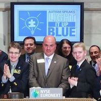 Autism Speaks Brings Awareness Message to Wall Street