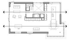 Afbeeldingsresultaat voor plattegrond villa begane grond