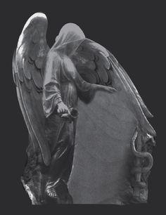 projekt rzeźb - anioł
