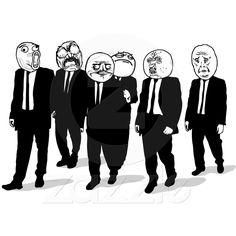 el caminar cómico de las caras del meme de la rabi de Zazzle.com