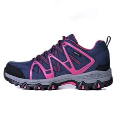 d2c41676cf84 TFO Womens Walking Shoes - Lightweight Hiking Shoes Breathable Lace up All  Season Shoes - for