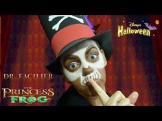 DR FACILIER MAQUILLAJE HALLOWEEN / HALLOWEEN MAKEUP DR FACILIER - YouTube