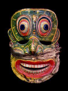 Antique Sri Lankan Mask | Flickr - Photo Sharing!