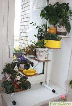 Оконная подставка для цветов `ПРОВАНС`